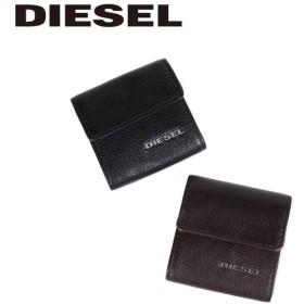 ディーゼル DIESEL 財布 コインケース 小銭入れ メンズ レザー KOPPER ブラック ブラウン 黒 X03920 PR271