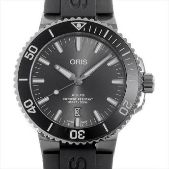 48回払いまで無金利 オリス アクイス デイト 733 7730 7153R 新品 メンズ 腕時計 キャッシュレス5%還元