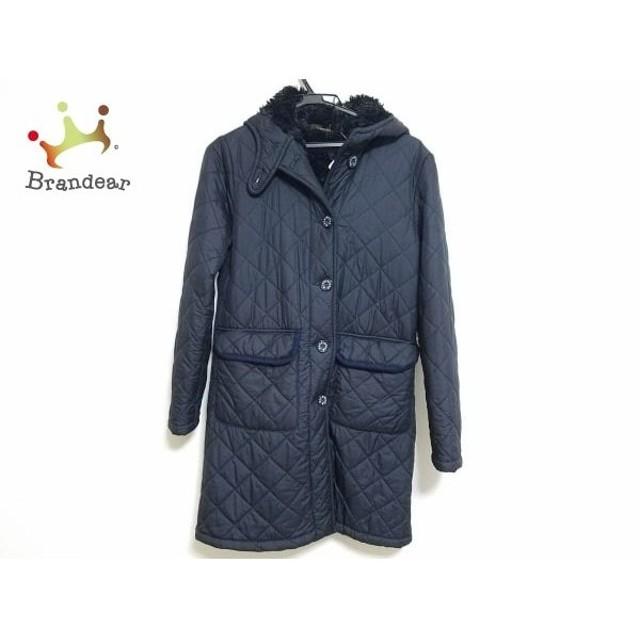 マッキントッシュ MACKINTOSH コート サイズS レディース 黒×ネイビー キルティング/冬物   スペシャル特価 20190910