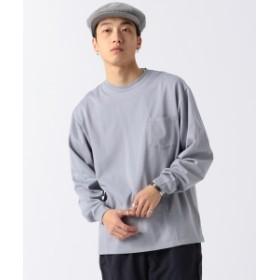 BEAMS / シルケット ルーズ Tシャツ メンズ Tシャツ GREY M