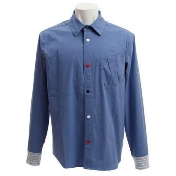 クリフメイヤー(KRIFF MAYER) ハッピーシャツ 1847400-2-SAX (Men's)
