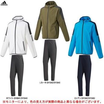 adidas(アディダス)M S2S ライトクロスフルジップパーカー パンツ 上下セット(FTL38/FTL36)トレーニング メンズ