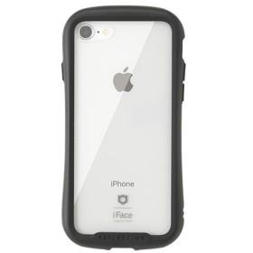[iPhone 8/7専用]iFace Reflectionハイブリッドガラスケース(ブラック) 41-907108