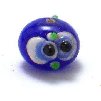 トンボ玉パーツ(フクロウ型) とんぼ玉 ビーズ パーツ 風水 2019 ゆうパケット送料無料