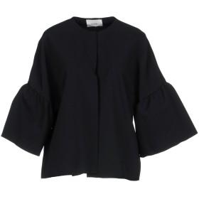 《期間限定セール開催中!》SUOLI レディース テーラードジャケット ブラック 40 ポリエステル 96% / ポリウレタン 4%