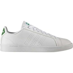 アディダス ADIDAS adidas NEO CLOUDFOAM VALCLEAN [サイズ:27.5cm] [カラー:ランニングホワイト×ランニングホワイト×グリーン] #AW3914
