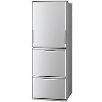 シャープ どっちもドア 3ドア冷蔵庫 350L シルバー【大型商品(設置工事可)】 SJ-W351E-S