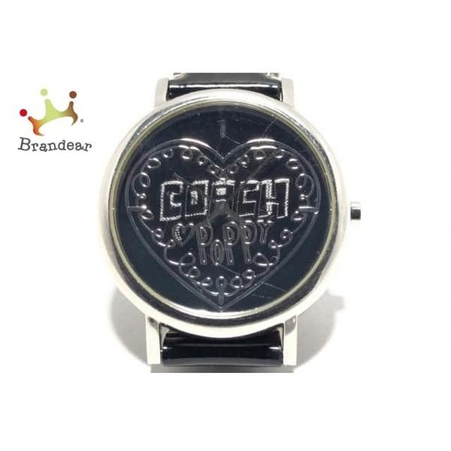 7b46a80e4c72 コーチ COACH 腕時計 CA.36.7.14.0420 レディース 黒 値下げ 20190515 ...
