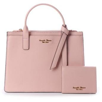 サマンサタバサプチチョイス ミニ財布付クラシカルバッグ ピンク