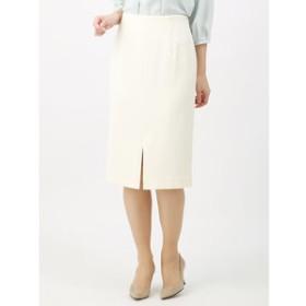 【THE SUIT COMPANY:スカート】<ウォッシャブル>【Littlechic】ドビージャージー2WAYタイトスカート