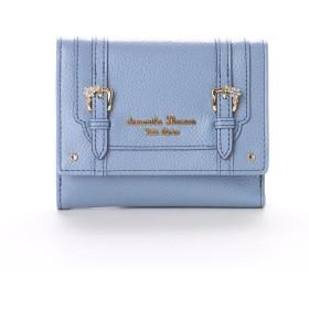 サマンサタバサプチチョイス ディーブルーメ 折財布 ブルー