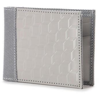 スチュワート スタンド STEWART/STAND ステンレス糸のスマートウォレット/3D ボックス (シルバー/3D ボックス)
