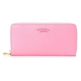 サマンサタバサプチチョイス バイカラーシンプルロゴシリーズ(ラウンドジップ長財布) ピンク