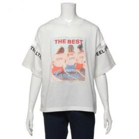 ラブトキシック/GIRL転写プリントTシャツ