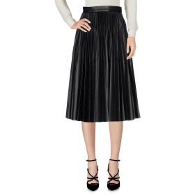 《期間限定 セール開催中》PLEIN SUD レディース 7分丈スカート ブラック 36 ポリウレタン 60% / ポリエステル 40%