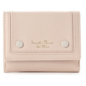 サマンサタバサプチチョイス シンプルボタンシリーズ(折財布) ベージュ