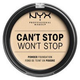 NYX Professional Makeup(ニックス) キャントストップ ウォントストップ フルカバレッジ パウダー ファンデーション 1 カラー・ペール