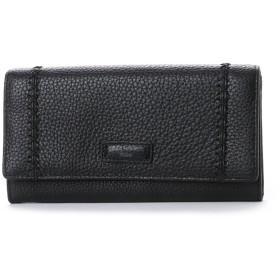 カンサイ ヤマモト ファム KANSAI YAMAMOTO FEMME かぶせ長財布 (ブラック)