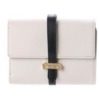 サマンサタバサプチチョイス ベルトシリーズ 三つ折り財布(ブラック)
