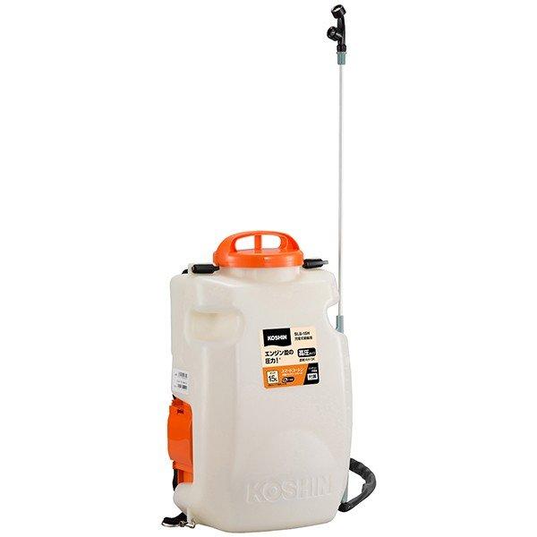 代引不可)工進:充電式背負い噴霧器 15L リチウムイオン