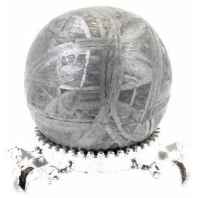 約19mm 天然隕石 メテオライト ギベオン鉄隕石 丸玉 スフィア【FORESTパワーストーン】 〔D02-24〕