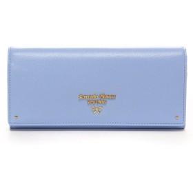 サマンサタバサプチチョイス プチリボン 長財布(ライトブルー)