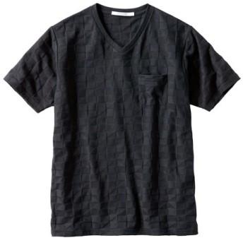 半袖変わり編Tシャツ Tシャツ・カットソー