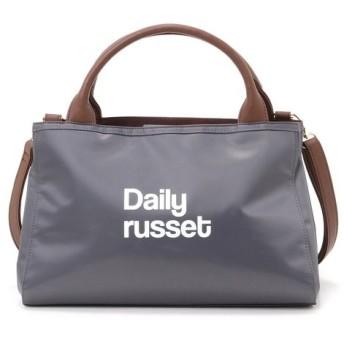 Daily russet / デイリーラシット ロゴお散歩トートバッグ