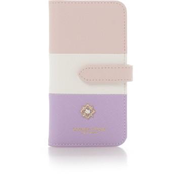 サマンサタバサプチチョイス フラワーモチーフシリーズ マルチカラーバージョン iPhone8ケース ピンク