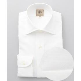 【J.PRESS MEN:トップス】シングルニードルGIZA88 ロイヤルオックスワイドカラー ドレスシャツ