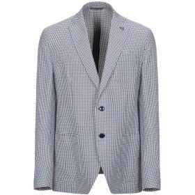 《期間限定セール開催中!》SARTORIA LATORRE メンズ テーラードジャケット ブルー 52 コットン 100%