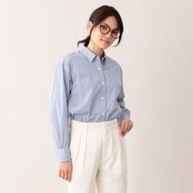 SALE【エムピー ストア(MP STORE)】 THOMAS MASON レギュラーカラーシャツ ホワイトベース ストライプ