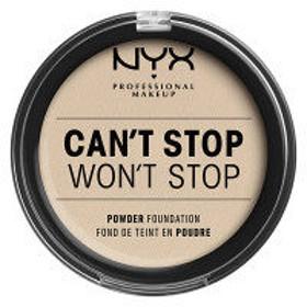 NYX Professional Makeup(ニックス) キャントストップ ウォントストップ フルカバレッジ パウダー ファンデーション 1.5カラー・フェア
