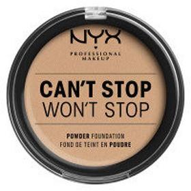 NYX Professional Makeup(ニックス) キャントストップ ウォントストップ フルカバレッジ パウダー ファンデーション 7カラー・ナチュラル