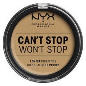 NYX Professional Makeup(ニックス) キャントストップ ウォントストップ フルカバレッジ パウダー ファンデーション 11カラー・ベージュ