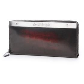 アルセラピィ artherapie ATメタルプレートアドバン ラウンドジップ長財布 (ボルドー)