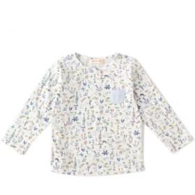 センス オブ ワンダー/ミニポケットつきTHEOリバティプリントTシャツ