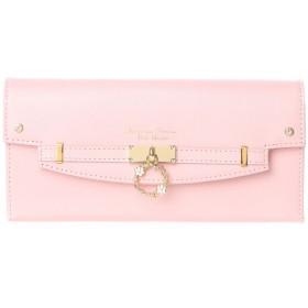 サマンサタバサプチチョイス フラワーリングモチーフ 長財布(ピンク)