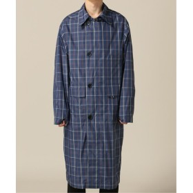 L'ECHOPPE WIBOE PROJECTS / ウィボー プロジェクツ Long Trench Large Check ブルー XS