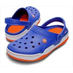 [crocs]クロックス フロント コート クロッグ (14300)(496) シーブルー/オレンジ[取寄商品]