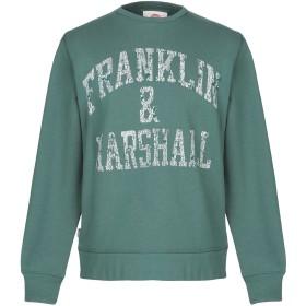《期間限定セール開催中!》FRANKLIN & MARSHALL メンズ スウェットシャツ グリーン XS コットン 100%