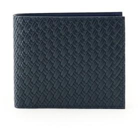 タケオ キクチ TAKEO KIKUCHI マルチカラー2つ折り財布 [ 財布 二つ折り カラフル ] (ネイビー)