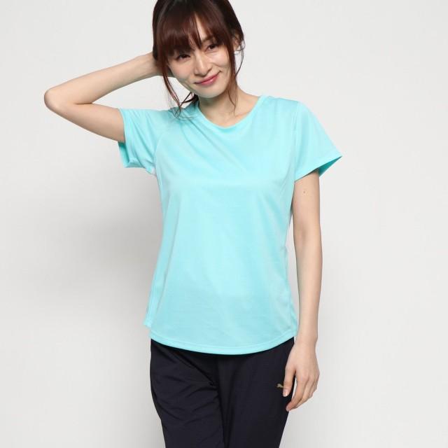 ティゴラ TIGORA レディース 半袖機能Tシャツ TR-9A2309TSY ク