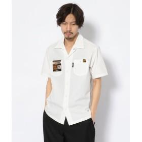 ショット T/C WORK SHIRT/TC 半袖 ワークシャツ メンズ WHITE XL 【Schott】