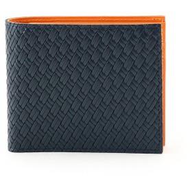 タケオ キクチ TAKEO KIKUCHI マルチカラー2つ折り財布 [ 財布 二つ折り カラフル ] (ダークオレンジ)
