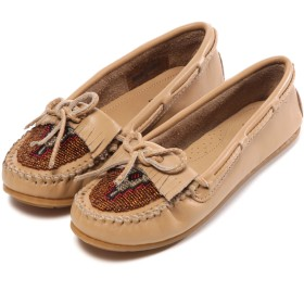 ミネトンカ MINNE TONKA atmos BEADED KILTY MOC(SAND)