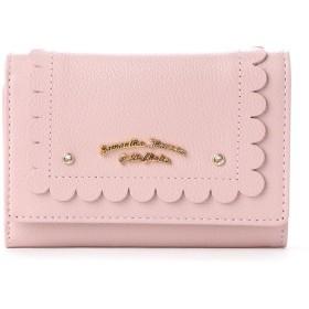 サマンサタバサプチチョイス スカラップシリーズ(折財布) ピンク