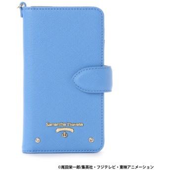 サマンサタバサプチチョイス ワンピースコラボシリーズ iPhone 7ケース (サボ) ブルー