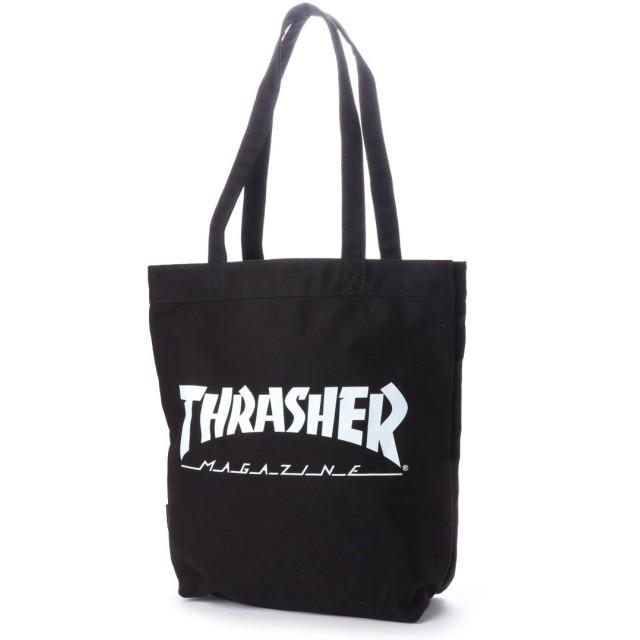 スラッシャー THRASHER THRASHER/スラッシャー トートバッグ (ブラック)