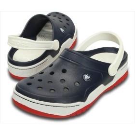 [crocs]クロックス フロント コート クロッグ (14300)(462) ネイビー/ホワイト[取寄商品]